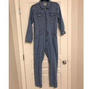 Hayden Pants - Denim jumpsuit